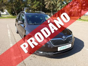 Škoda Superb Combi 1.6 TDI Greenline